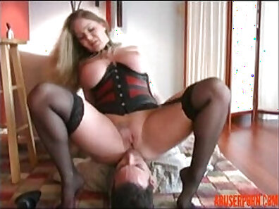 Beating my own face with Cock & Sex Slave