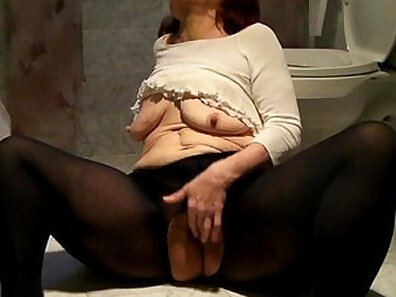 Bosomy tanned Asian has huge amounts of weight on her clit