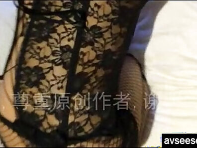 Chinese housewife maid taking home
