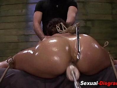 Big Tit Porn Star Bondage and Fist Play