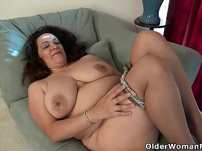 American milf jnick spring and the white socks