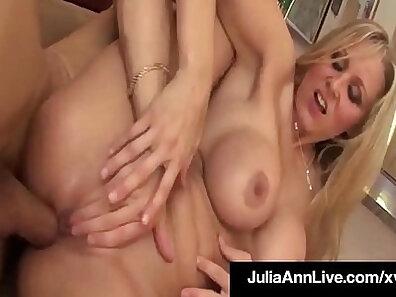 MILF Monique Alexander Julia Ann Anal Creampied