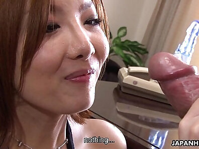 asian is getting her anus fucked and slapped with a strapon