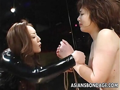 Asian bondage teaches by a master