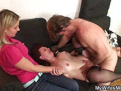 Laundy Brazilian Mother jacking off her husband