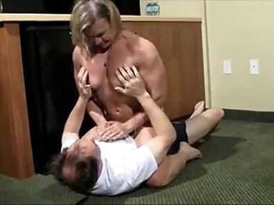 Wrestling at the airport VIP client