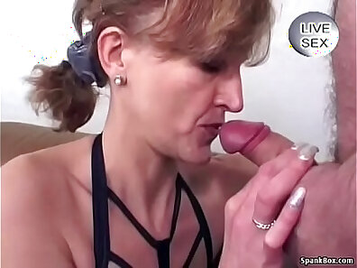 My first anal for granny on facial