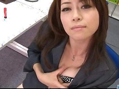 Curvy wife caught in office bathroom