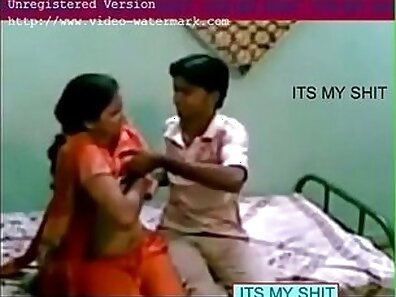 Black pedantic Indian girl fucked in missionary position