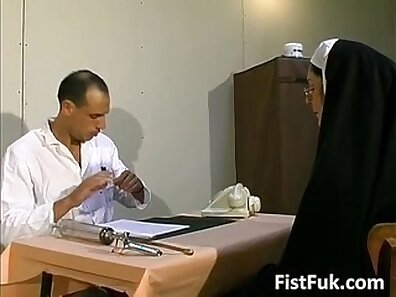 Japanese Girl Treats Her Bimbo Nurse