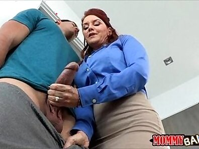 Stepmom Seduces Teen and Embarrasses Her BF with Fuck