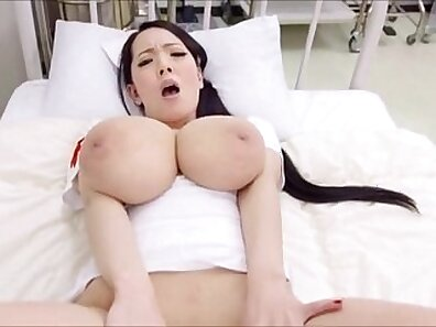Cecilia Waters Gets Fucked by Two Doctors In Tight Asshole