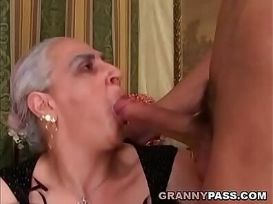 Cool granny can handle some cock