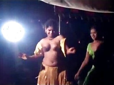 Beautiful Indian Girl With Big Torpedo Dancing