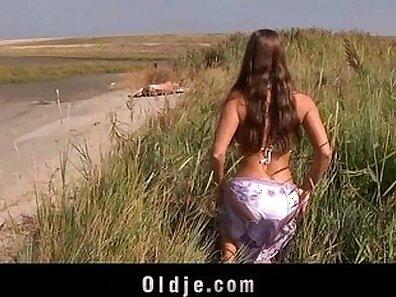 Audrey-composing beach movie hot beauty with big tits fucks