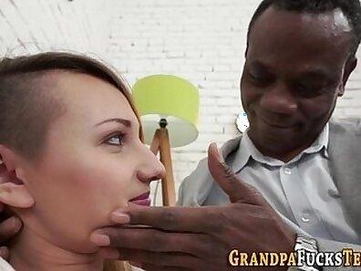 Sexy Brunette Black Slut Fucked Hard By Stepbro Chloe Grace