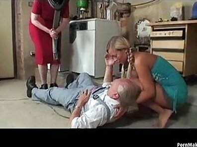 Blonde Teen Granny has A Breastload of Cocks and Guys Cum on Stomach