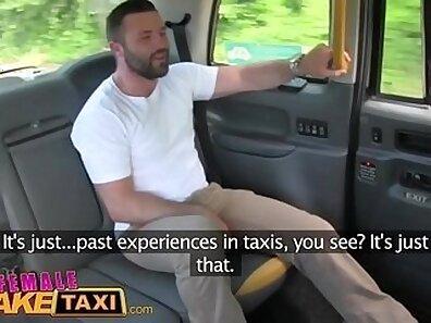 Cougarmada cum facial serviced by taxi driver