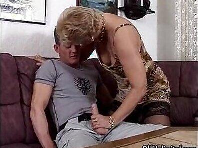 Cumcised Tranny Granny In Stockings