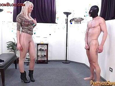 Eva Dominant Blonde Curvy Clambitious In Stocking