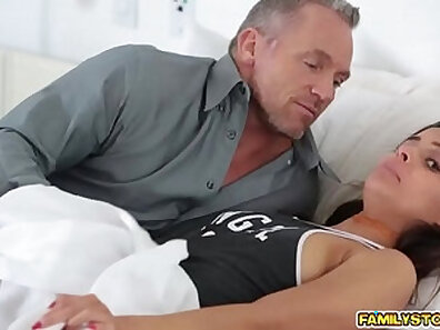 Her Step Friends Sucks My Pussy For Straight Dad