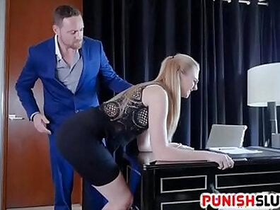 Leali gets punished like a boss