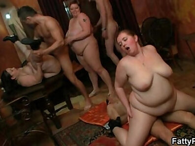 BBW Plays with a Cock and Gets Swollen