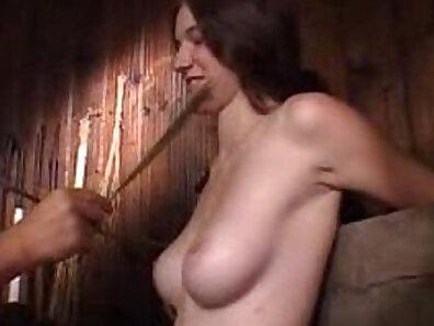 Virgin Mhina giving head in hot punishment