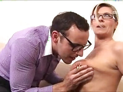Fucked mature german beauty deep throating and creampied