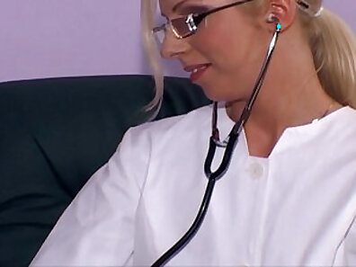 Bitch sluty little white nurse is nailed from behind