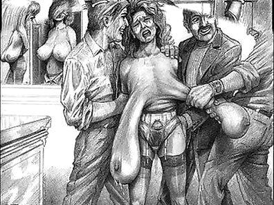 Kinky bondage babe fucked hard