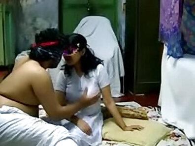 Happy Indian Group Sex Enjoying