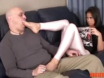 Casandra rides her stepdaughter hard