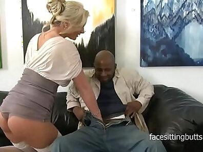 Busty cougar Eva Hase gets bored of banging strangers then Aleska gets fucked