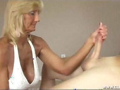 Granny Jerks Off Cock Dicks