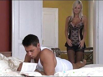Blonde Devon: Anal Fucking Double Strapon