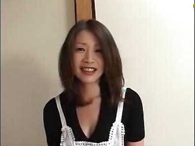 Gensual japanese hot mum seduced by step son while he films her first