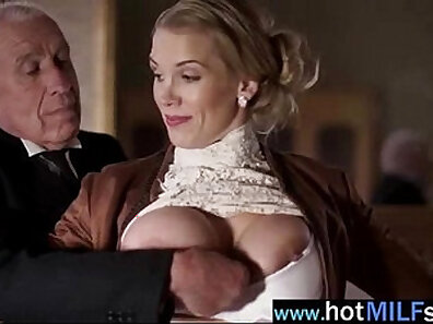 Cam Mature Auguste Summers Rides Amazing Cock of Johnny Castles on Halloween