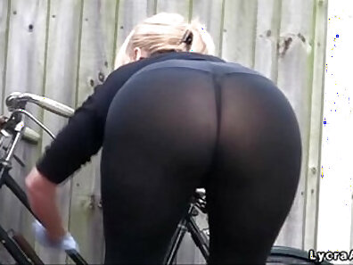 Actual long legs and large booty caught by outdoors