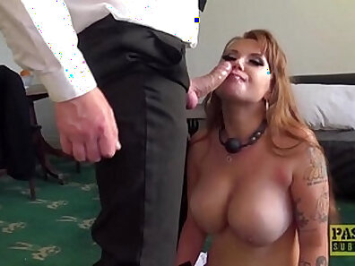 Cum swapping redhead gets corned