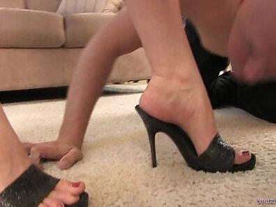 Femdom gagged foot fetish for his buddy